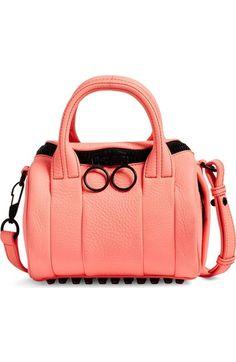 c7a2c3fb24 Alexander Wang Mini Rockie Leather Satchel