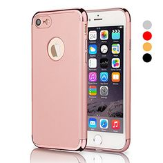iPhone 7 Case, VANSIN 3 In 1 Ultra Thin and Slim Hard Cas...