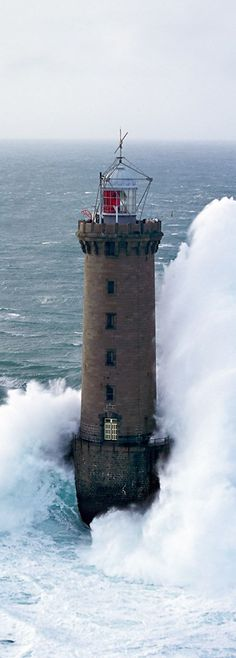 Ar-men Lighthouse - France.