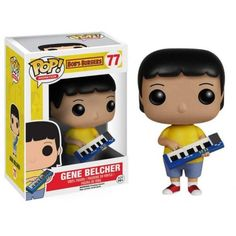 Funko Pop! Gene Belcher, Bob's Burger, Cartoon, FOX, Funkomania
