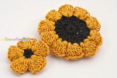 Ianus, double-face - crochet flower