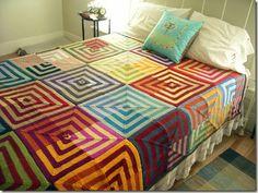 Mitered Squares Blanket