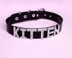 "shopkadabra: "" For the kitten in ur life!  It's never to early to plan for Valentines day  www.kadabracult.com #kadabracult #shopkadabra #kadabra #valentinesgift #kittencollar #cute #chokers #collars #kittenplay #pastel #cyberghetto #seapunk..."