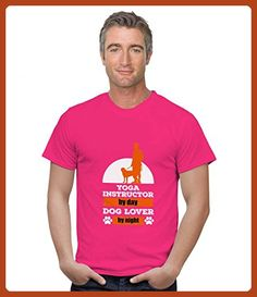 Funny Yoga Instructor T Shirt Yoga Instructor & Dog Lover Gifts by HOM - Funny shirts (*Partner-Link)