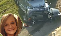 Tragedy as girl, 16, killed after 'texting and driving on her first solo drive'