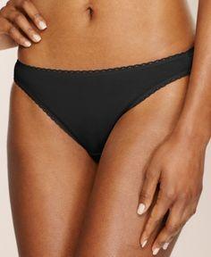 Charter Club Pretty Cotton Bikini, Only at Macy's - Grey/White XXL