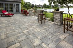 Lakeview Patio with Bristol Valley Paver