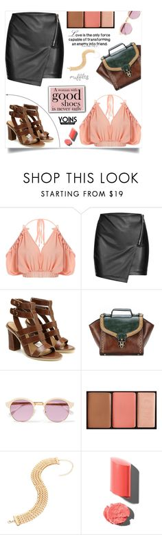 """""""Ruffled Tops, Yoins!"""" by samra-bv ❤ liked on Polyvore featuring Sheriff&Cherry and Hourglass Cosmetics"""