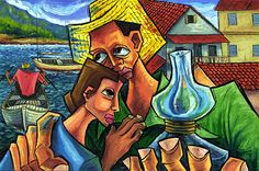 """""""Hurricane"""" by Roel Caboverde Yacer ~ Cuban Artist"""