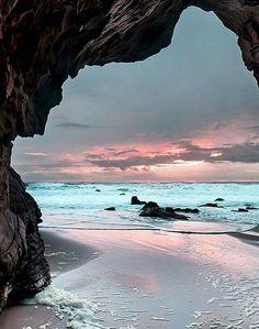 Davenport Cove Beach,California. 99TravelTips