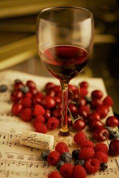 rosso - vino e frutta