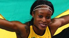 Jamaica's Elaine Thompson won Olympic gold in the 200m to complete a sprint double in Rio.  Thompson, 24, clocked 21.78 seconds to beat Netherlands' world champion Dafne Schippers by 0.13sec and add the 200m title to the gold she won in the 100m.  USA's Tori Bowie took bronze in 22.15, while Great Britain's Dina Asher-Smith, 20, ran 22.31 to finish fifth.