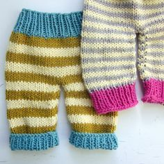 knitting pattern newborn baby pants PDF pattern immediate image 3 Knit Baby Pants, Baby Pants Pattern, Knitting For Kids, Baby Knitting Patterns, Pull Bebe, Toddler Pants, Baby Costumes, Baby Sweaters, Knit Crochet