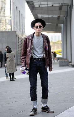 Streetstyle: Kim Wonjung at Seoul Fashion Week F/W 2013