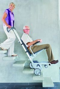 These step climbers retail at ca. but would enable visitors in wheelchairs to get beyong the Great Hall. They also have the facility to lift wheelchairs too. Step Climber, Standing Desk Chair, Handicap Accessible Home, Stair Lift, Handicap Bathroom, Wheelchair Accessories, Adaptive Equipment, Used Chairs, Mobility Aids