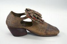 manssko, slejfsko, man shoe, ca 1630 Livrustkammaren, 27274(06:5904)