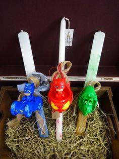 Πασχαλινές Λαμπάδες Πιτζαμοήρωες ( Pj Masks) Birthday Candles