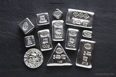 If you are interested in investing in either silver bullion or coins, a strong case can be made for buying Yeager's Poured Silver bars via a YPS grab bag. --How does up to Off your Next Vacation sound to you?--Click the photo for more information Silver Eagle Coins, Gold And Silver Coins, Silver Bars, Bullion Coins, Silver Bullion, Troy, Gold News, Silver Ingot, Gold Money