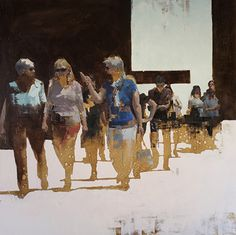 """Passages No. 15 by John Wentz Oil ~ 46"""" x 46"""""""