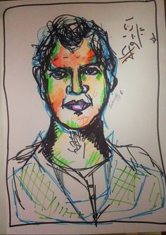 Abstrakcyjny portret /abstrakct portrait