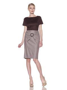 "gorgeous ""espresso"" pencil skirt"