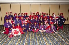 International Meet-Up: Canadian Hatters- 2013 Southern HospitaliTEA International Convention Atlanta, Georgia #RedHatSociety #Sisterhood #Convention