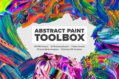 Abstract Paint Toolbox by Jim LePage on @Graphicsauthor