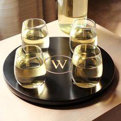 Personalized Wine Flight Tasting Set - for holiday entertaining