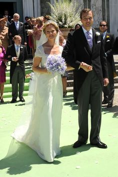 Princess Maria Carolina of Bourbon-Parma and Albert Brenninkmeijer, June 16, 2012