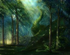 Elven Dragon by Winterkeep.deviantart.com on @DeviantArt