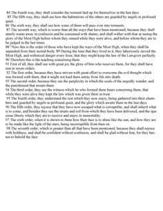 Hidden 70 Verses of II Esdras 83-98 very important what happens to the Spirit after death Important