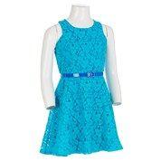 Lovely Two Tone Sleeveless Lace Dress Dresses Kids Burlington Coat Factory