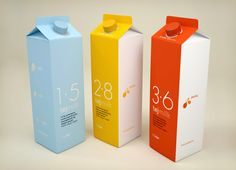 Beautiful minimal product design by Fontos Graphic Design from Hungary.