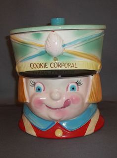 Cookie Corporal Cookie Jar by Napco