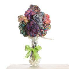 Jimmy Beans Wool Yarn Bouquets - Koigu Full Bouquet at Jimmy Beans Wool Boquet, Yarn Bombing, Wool Yarn, Christmas Ornaments, Knitting, Holiday Decor, Pattern, Gifts, Beans
