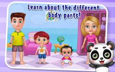 #Gameiva brings your #Kids to recognize different #BodyParts like #head, #eyes, ears & much more in this #EducationalGame.