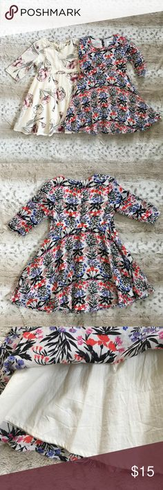Old Navy Toddler Girl Dress Bundle Similar dresses. My daughter only wore the cream dress once. There is a small spot pictured on the cream dress. Other than that they both are in excellent shape. Smoke free home. Old Navy Dresses Casual