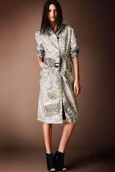 Burberry Prorsum Pre-Fall 2014 Fashion Show - Matilda Lowther