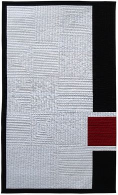 On the Edge - State of Balance Quilt Modern, Contemporary Quilts, Gray Quilts, Christine Jones, Hand Quilting, Embroidery Ideas, Quilt Making, Artist At Work, Art Ideas