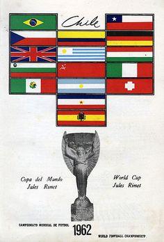 Equipos participantes en la Copa Mundial de Fútbol de 1962