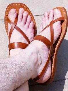 5746b724cf45d Beautiful sandals on beautiful male feet