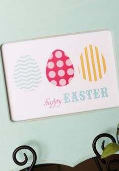 Easter Art Free Printable by www.thecraftingchicks.com