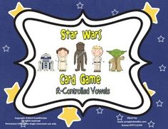 Star Wars R-Controlled Vowels free