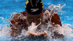 Alia Atkinson Wins 100m Breaststroke, ties World Record time in France