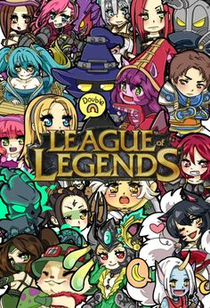 League of chibis By: LawyChan :: League of Legends