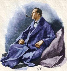 Sherlock Holmes in Art.