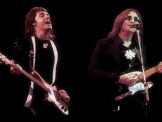 It's often been wondered what it would have been like if John Lennon and Paul McCartney teamed up on stage after The Beatles. There have been many guesses and imaginitive creations over the years.    Here is a video imagining that John Lennon and Paul McCartney reunited on stage at Elton John's concert at Madison Square Garden in 1974. In reality,...