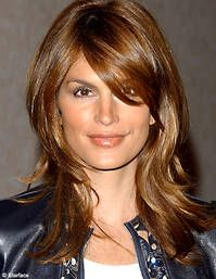 Cindy Crawford hair-love the layers Easy Updos For Long Hair, Long Thin Hair, Long Layered Hair, Cindy Crawford, Face Shape Hairstyles, Cool Hairstyles, Hairstyles With Bangs, Medium Hair Styles, Long Hair Styles