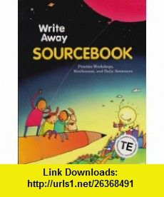 Great source write souce next generation student edition softcover great source write away sourcebook teachers edition grade 2 write source 2000 revision fandeluxe Image collections