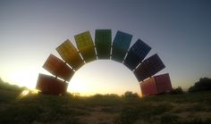 The shipping container rainbow, Port Fremantle PERTH